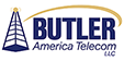 Butler America Telecom LLC Sticky Logo